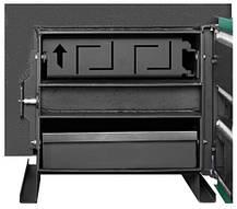 Универсальный котел длительного горения Макситерм Мастер 31 кВт утеплённый, фото 3