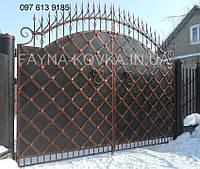 Кованные ворота 2420