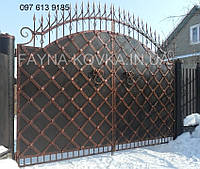Кованые ворота (под старину)  242