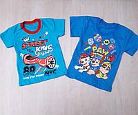 Детская футболка на мальчика оптом (26-34)