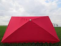 Пляжный торговый зонт с серебристым напылением 2 м * 3 м