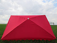 Пляжный торговый зонт с серебристым напылением 2 м * 3 м, фото 1