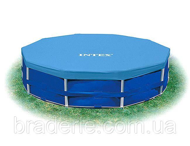 Тент для каркасных бассейнов INTEX, диаметр 366 см