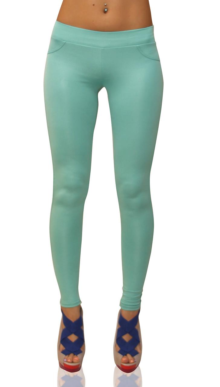 Лосіни жіночі (бузок, білий, м'ятний, блакитний, малиновий, кораловий, зелений, жовтий)