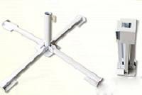 Держатель подставка крестовина для зонта из металла