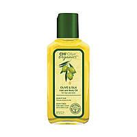 Масло для волос и тела CHI Olive Organics Olive   Silk Hair and Body Oil с оливой 59 мл