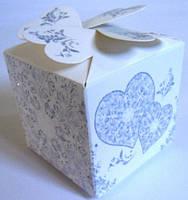 Подарки гостям на свадьбу, коробочка для гостей с серебром