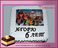 Детский торт Пираты