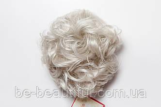 Шиньон-накладка №3.Длинна до 15 см., цвет серый