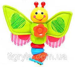 Погремушка Чудо Гусеница, чудо гусеничка, чудо бабочка, фото 2