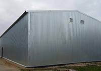 Строительство ангаров,зернохранилищ,накрытий а