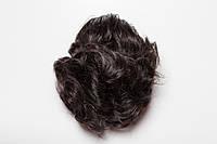 Шиньон-накладка №3.Длинна до 30 см., цвет черный шоколад
