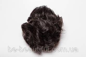 Шиньон-накладка №3.Длинна до 15 см., цвет черный шоколад