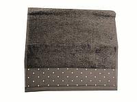 Махровое полотенце Saheser 70-140 см коричневого цвета, фото 1