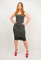 Платье майка женское трикотажное от бренда Adele Leroy