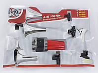 Сигнал автомобильный, воздушный 12 V, 5 дудок Хром Сигнал КН-0146