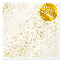 Калька з фольгуванням - Golden Pion - Fabrika Decoru - 30x30