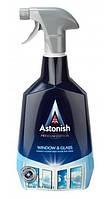 Засіб для миття вікон та скла з ефектом анти - запотівання Astonish Window & Glass 750 мл.