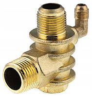 Обратный клапан компрессора уголок резьба 10мм
