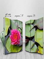 Ширма двусторонняя, Красивая лилия