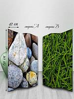 Ширма двусторонняя, Трава среди камней