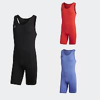 Оригинал! Трико костюм для тяжелой атлетики мужское Adidas PowerLiftSuit (Адидас), фото 1