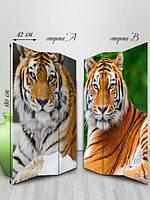 Ширма двусторонняя, Тигры