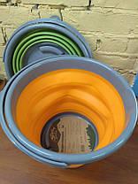 Ведро складное Tramp 10 л Оранжевый (TRC-091-orange), фото 3