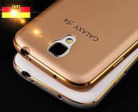"""Samsung i9500 S4 GALAXY металлический алюминиевый чехол бампер рамка оригинальный для телефона """"360 PROT"""""""