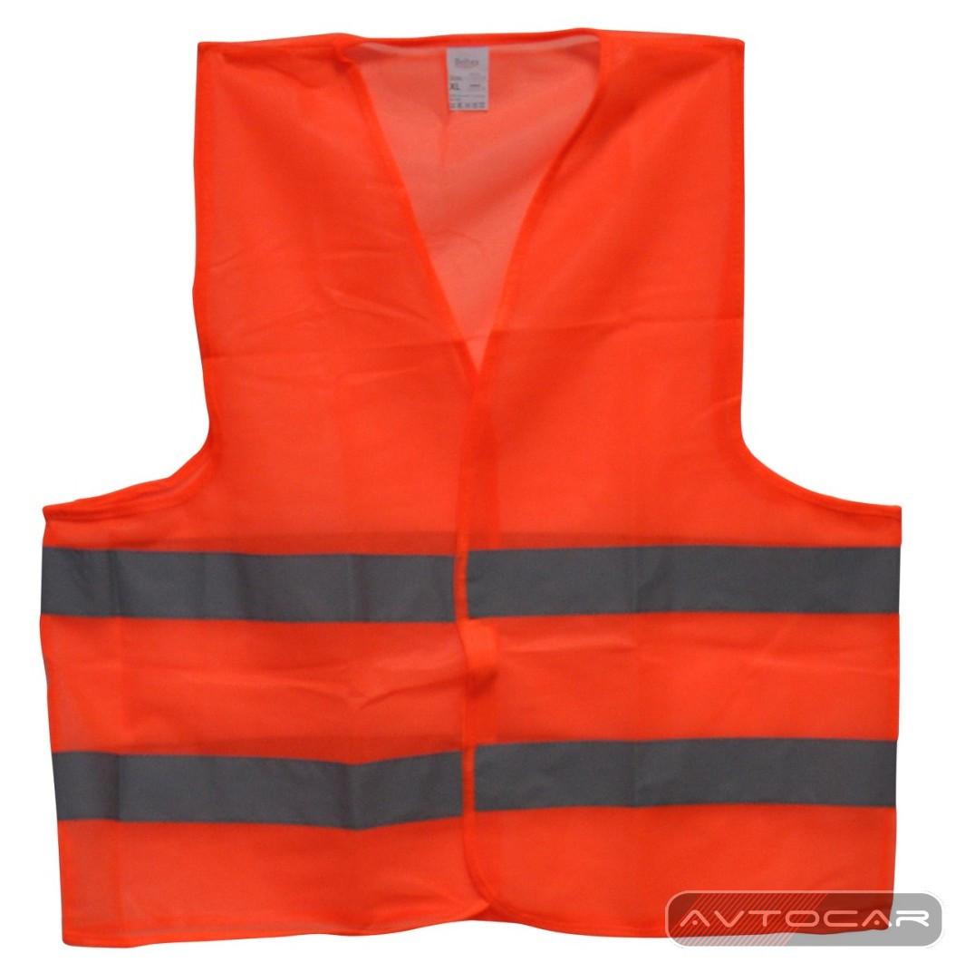 Жилет автомобильный светоотражающий Beltex (оранжевый)