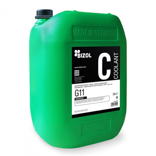 Антифриз - BIZOL Coolant G11, concentrate 20 л.