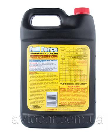 Концентрат антифриза PEAK Antifreeze & Coolant, цвет зеленый, 3,78л., фото 2