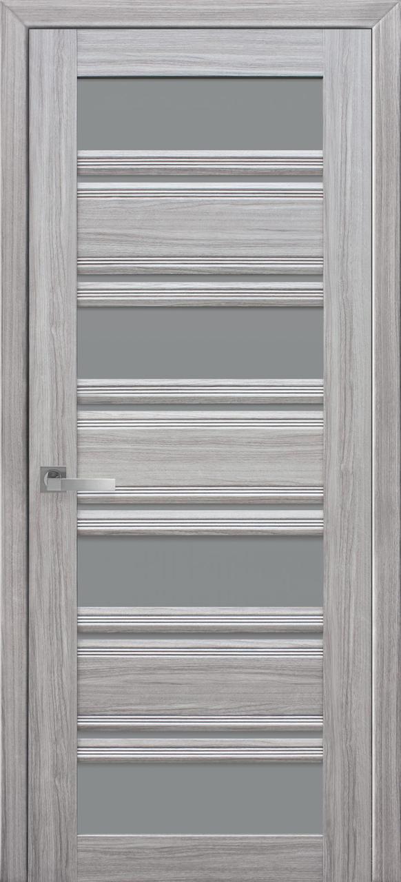 Двери межкомнатные Новый стиль Венеция С2 GR Жемчуг серебряный