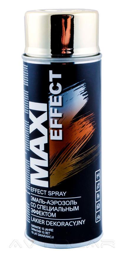 Акриловая краска Maxi Color MX0011 эффект золота 400мл.