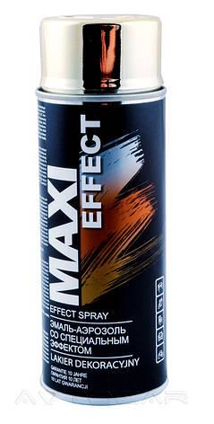 Акриловая краска Maxi Color MX0011 эффект золота 400мл., фото 2