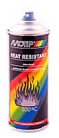 Лак термостойкий Motip Heat Resistant 800°C аэрозоль 400мл.