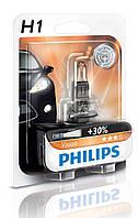 Автолампа Philips H1 Vision (+30%) 12V 55W P14,5s12258VI (1шт)