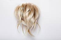 Шиньон-накладка №4.Длинна до 20 см, цвет классический блонд