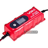 Зарядное устройство VOIN 6-12V / 0.8-4.0A / 1.2-120AHR / LCD / Импульсное, фото 1