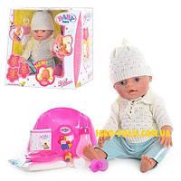 Пупс Кукла Baby Born BB 8001 E. Беби Борн. 9 Функций. 2 соски