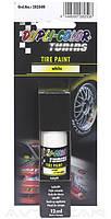 Маркер для резины Dupli Color Tyre Paint 12ml белый цвет (282508)