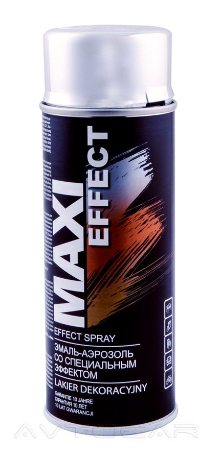 Акриловая краска Maxi Color MX0010 эффект хрома 400мл.
