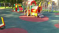 Обзор напольных резиновых покрытий для детских площадок