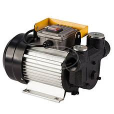 Установка для перекачки дизеля REWOLT SL001B-220V (насос, топливный пистолет, шланги) 60л/мин, фото 2