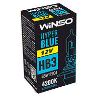 Автолампы Winso 12V HB3 HYPER BLUE 4200K 65W P20d