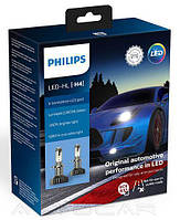 Автолампы Philips X-tremeUltinon LED gen2 +250% H4 22Вт 1200лм 11342XUWX2