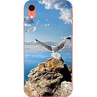 Чехол силиконовый с картинкой для Iphone XR Небо