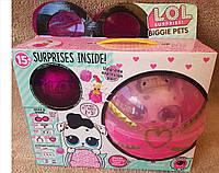 Кукла ЛОЛ  LOL Pets Dollmation Собачка + шарик маленький петомец!!!Новинка 2019