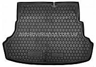 Резиновый коврик багажника Hyundai Accent 2011- (седан) Avto-Gumm