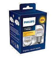 Philips X-tremeUltinon 2-го поколения PY21W + преобразователи, 2шт. 11498XUAXM